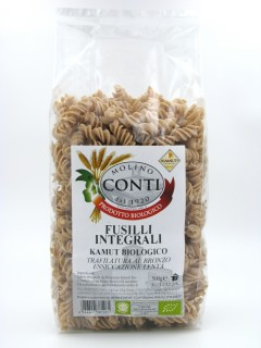Organic Wholemeal Kamut Fusilli