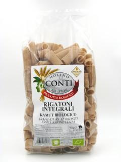 Organic Wholemeal Kamut Rigatoni