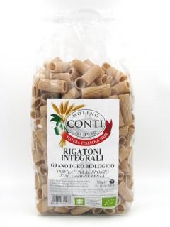 Rigatoni integrali di grano duro bio