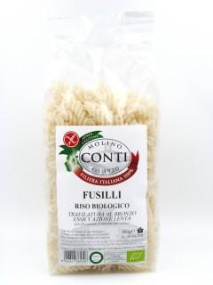 Organic rice fusilli