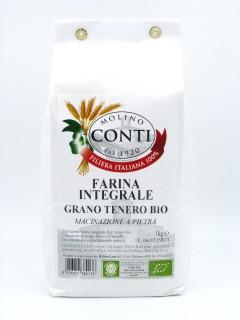 Organic Wholemeal Soft Wheat Flour